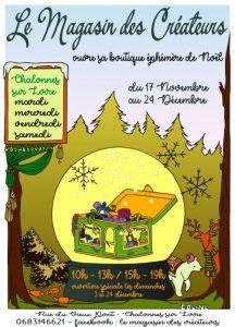 Boutique éphèmère de Noël à Chalonnes sur Loire