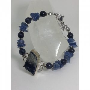 Bracelet en pierre naturelle kyanite