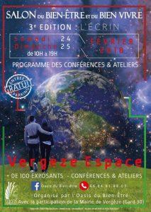 Salon du Bien Etre et du Bien Vivre de Vergèze 3 è édition